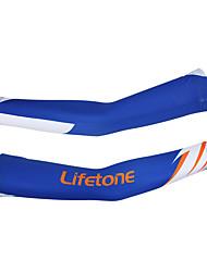 braço aquecedores Moto Térmico/Quente Confortável Protecção Unissexo Azul Terylene