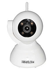 HOSAFE SV03 720P Wireless Pan / Tilt IP Camera w/ ONVIF/ 4 PCS Array IR leds/ Two Way Speak/ Mcro SD Card Record