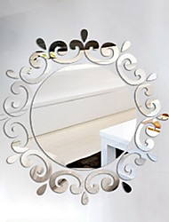 DIY Mirror Acrylic Wall Stickers Wall Decals