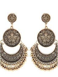 European Style Fashion Metal Retro Drop Earrings Jewelry Women