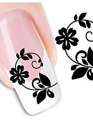 1sheet  Water Transfer Nail Art Sticker Decal XF1444
