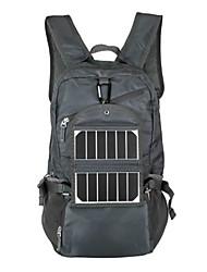 30L L Randonnée pack sac à dos Sac à Dos de Randonnée Camping & Randonnée Escalade Extérieur Vestimentaire Panneau Solaire Gris foncé