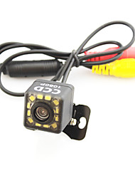 Parking Assistance System Car Rear View Camera Auto 12 LED CCD HD RearView Reverse Universal Backup Camera Waterproof Night Vision