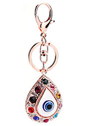 Key Chain Moon Gold Metal