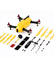 Yellow Smartphone Control RC FPV Racing Drone w/ 1806 Motors ESC for MR250