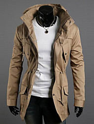Men's double high collar coat of cultivate one's morality Leisure fashion multicolor jacket GESE6