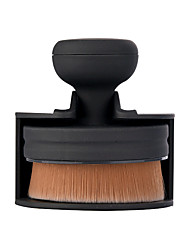 1 Foundation Brush Nylon Professional Travel Plastic Face