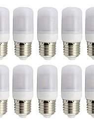 4W E26/E27 LED a pannocchia T 27 SMD 5730 280 lm Bianco caldo Luce fredda Decorativo V 10 pezzi