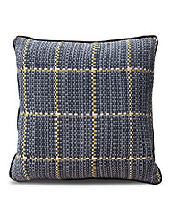 1 pcs Cotton/Linen Pillow Case Plaid Traditional/Classic Blue Plaid