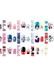 Nail Art Water Transfer Stickers Cute Full Cover DIY Nail Designs 2pcs