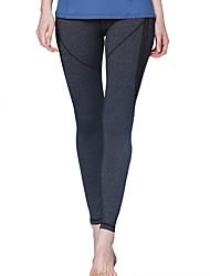 Yoga-Hose Unten Videokompression Hoch Hochelastisch Sportbekleidung Schwarz Damen Yoga