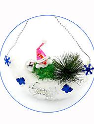 Kerstversieringen Kerstfeest Artikelen Kerstboomversiering Alles voor de feestdagen 3Pcs Kerstmis Kunststof