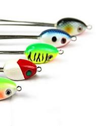 1 pcs Hard Bait Fishing Lures Hard Bait Random Colors Hard Plastic Sea Fishing Freshwater Fishing