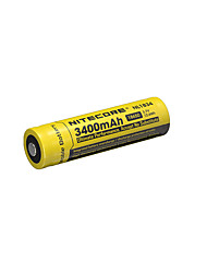 NITECORE NL1834 3400mAh 3.7V 12.6Wh 18650 Li-ion Rechargeable Battery