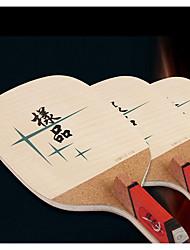 Table Tennis Rackets Rubber Short Handle No Indoor
