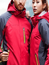 Hiking Unisex Waterproof Windproof Anti-Eradiation Spring Summer Fall/Autumn Winter Velvet Red Black Blue Army Green Camping / Hiking