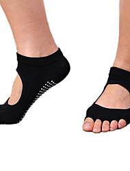 Mujer Calcetines Calcetines con Dedo Calcetines Antideslizantes Calcetines de Deporte Yoga PilatesTranspirable Listo para vestir Cómodo