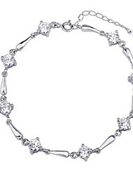 Women's Chain Bracelet Sterling Silver Jewelry For Party