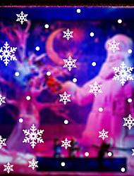 стены стикеры стены наклейки стиле Рождество снежинка наклейки ПВХ стены