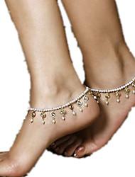 женская имитационная перла crystalanklet ювелирных 1шт