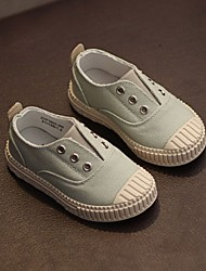 Boy's Sneakers Spring Fall Comfort Canvas Casual Flat Heel Green