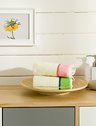 Wash Towel Set 2 Pieces Of Jacquard High Quality 100% Cotton Towels