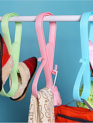 Plastic for Shoes Rack & Hanger Others Multi-color