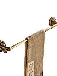 Antique Brass Material Bathroom Towel Rack