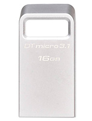 kingston Mini USB flash drive vara pendrive 16gb 3.1 pen drive memory stick USB dtmc3 mentais 3.0