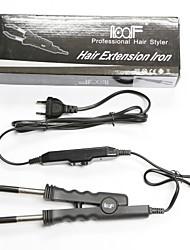 Европа подключить черный профессиональный LOOF классический зажим тепла палочка тепла для наращивания волос 02