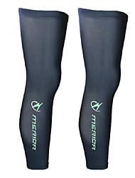 Calentadores de la pierna/Polainas Bicicleta Mantiene abrigado Materiales Ligeros Cómodo Protector Unisex Negro Poliéster