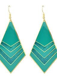 Pendientes colgantes Legierung Moda Blanco Negro Rojo Verde Azul Joyas Boda 1 par