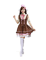 Love Live Hanayo Koizumi Cosplay Costumes Solid Dress / Headwear