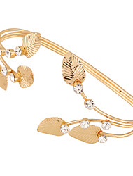 Women's Cuff Bracelet Alloy Fashion Punk Golden Jewelry 1pc