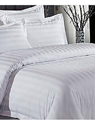 Novelty Duvet Cover Sets 4 Piece Cotton solid Reactive Print Cotton Full 1pc Duvet Cover 2pcs Shams 1pc Flat Sheet