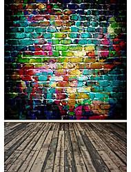 arc en ciel couleur de fond studio photo photographie décors 5x7ft