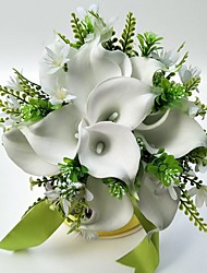 Wedding Flowers Free-form Roses Bouquets Wedding Party/ Evening Satin