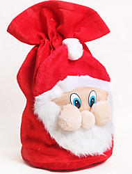 Holiday Props Christmas Decorations Christmas Gifts Christmas Party Supplies Christmas Toys Holiday Supplies Santa Suits Cloth RedFor