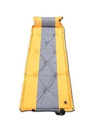 Breathability Camping Pad Yellow Camping Nylon
