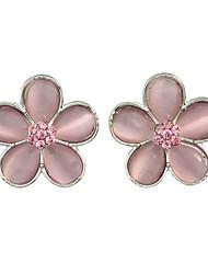 Flower Small Stud Earrings for Ladies