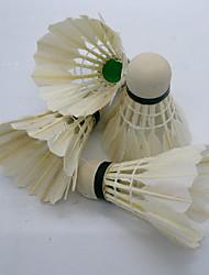 Bola de Badminton( DEPenas de Pato,Branco) -Elasticidade Alta Durabilidade