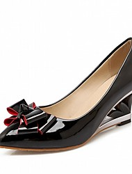 Femme Chaussures à Talons Confort Nouveauté Cuir Verni Similicuir Printemps Eté Automne Mariage Décontracté Habillé Soirée & Evénement