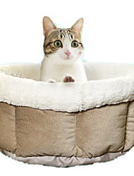 Cat / Dog Bed Pet Mats & Pads Casual/Daily Gray Textile