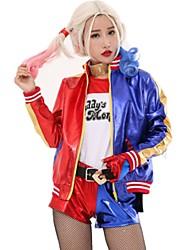 Suicide Squad Harley Quinnity Joker Movie Halloween Anime Top Jacket