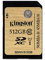 Kingston 512GB carte SD carte mémoire UHS-I U1 Class10