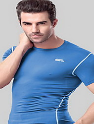 Running Sweatshirt Clothing Sets/Suits Women's Short Sleeve Breathable Sweat-wicking Terylene CoolmaxYoga Exercise & Fitness Racing
