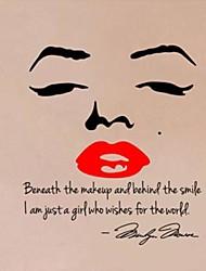 vente chaude Marilyn Monroe cite stickers muraux zooyoo8002 chambre mur de vinyle autocollants salon bricolage art mural