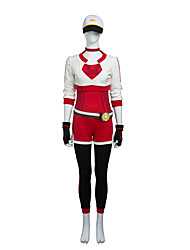 costumes de cosplay / petit costume de cosplay monstre taille costume sur mesure de haute qualité poket ensemble complet rouge