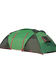 MOBI GARDEN 5-8 persons Tent Double Automatic Tent One Room Camping Tent OxfordKeep Warm Waterproof Portable Windproof Ultraviolet