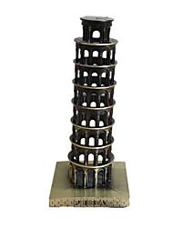 Modèle d'affichage Maquette & Jeu de Construction Jouets Nouveautés Bâtiment Célèbre Métal Bronze Pour Garçons Pour Filles
